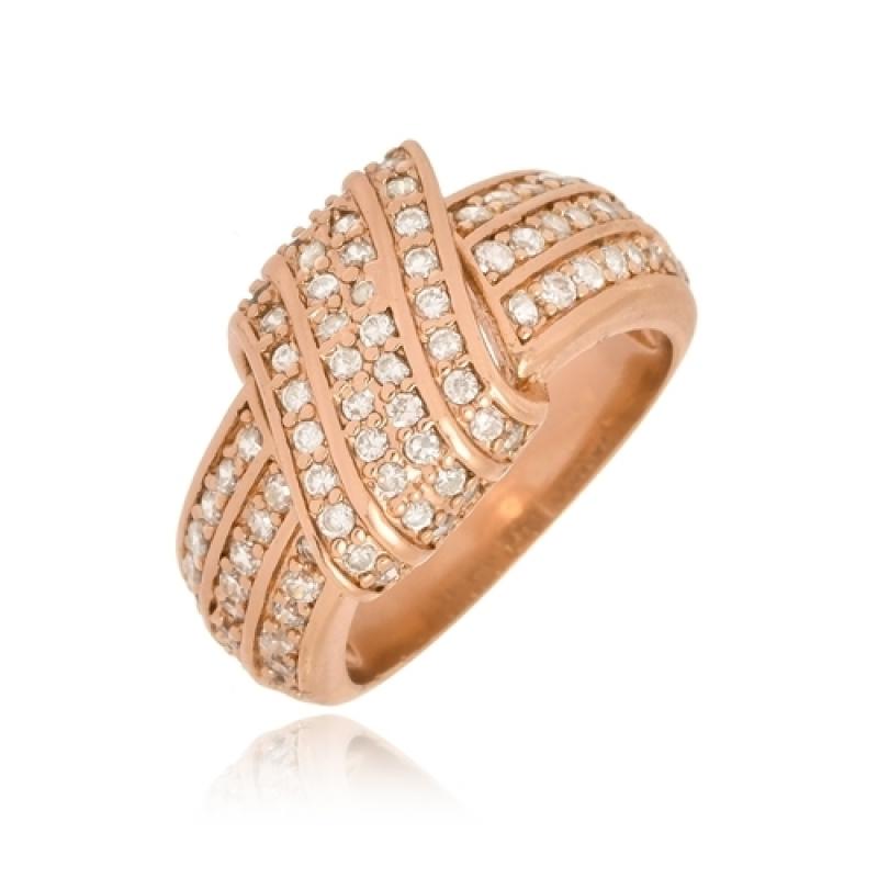 Anéis de Ouro Femininos Largo Americana - Anel de Ouro com Letra Feminino