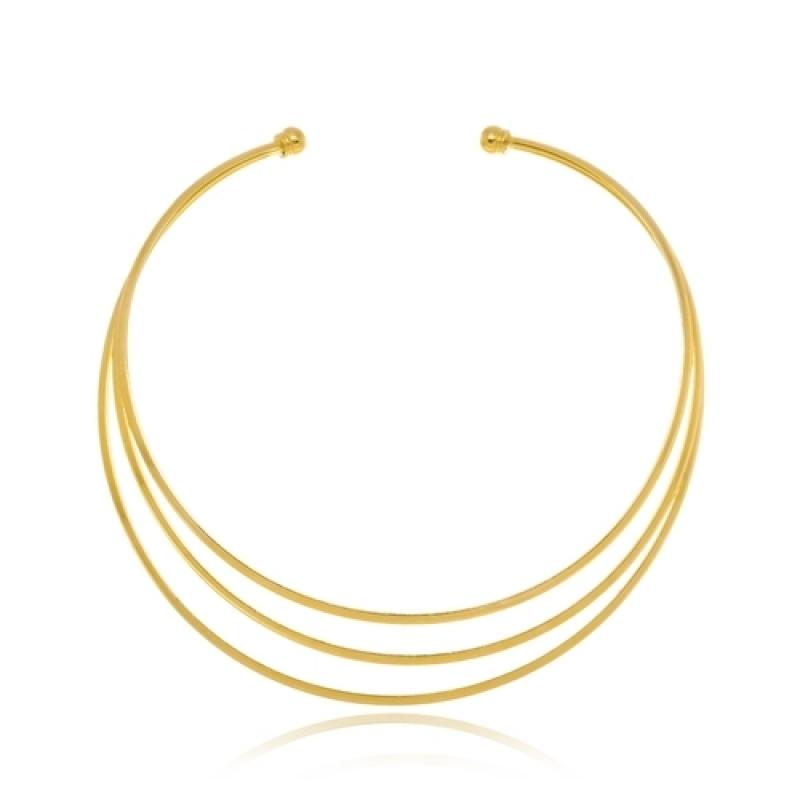 Loja Que Vende Colar de Ouro Feminino Grosso Cidade Jardim - Colar Folheado a Ouro Feminino