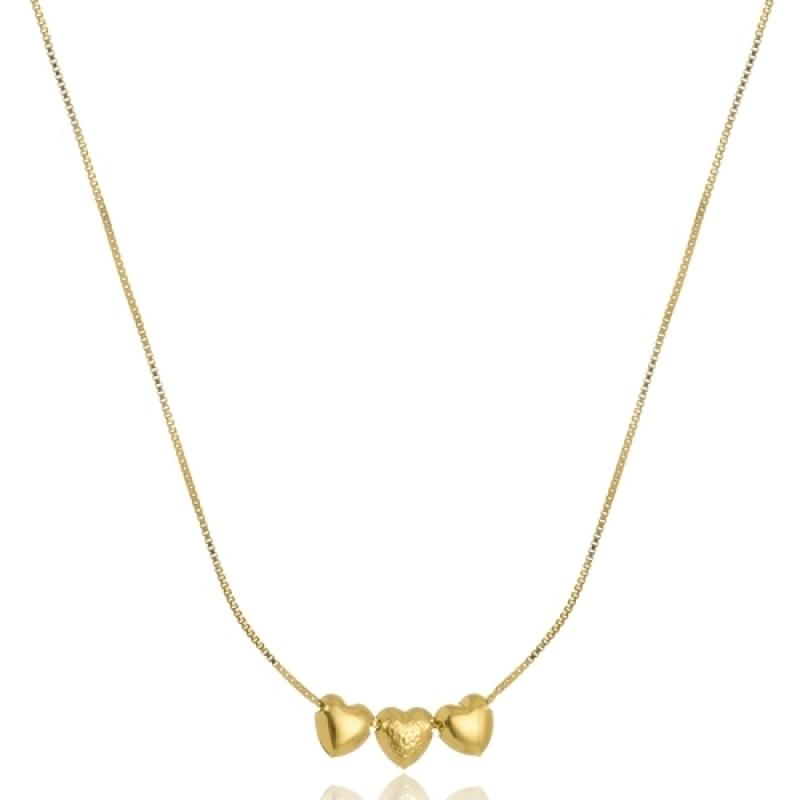 Loja Que Vende Colar Folheado a Ouro Feminino Rio Pequeno - Colar em Ouro Feminino