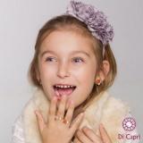 anel infantil de prata
