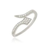 anel feminino prata para comprar Araçoiabinha
