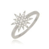 anel folheado em prata preços Tatuapé