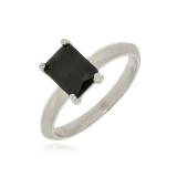 anel prata feminino para comprar São Domingos