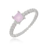 anel prata feminino São Domingos