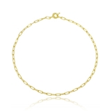 colar em ouro feminino barato Verava