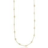 colar feminino folheado a ouro barato Cardeal