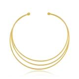 colar de ouro feminino grosso