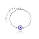pulseira feminina prata Consolação