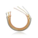 pulseira de prata feminina