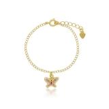 pulseira de ouro feminina infantil