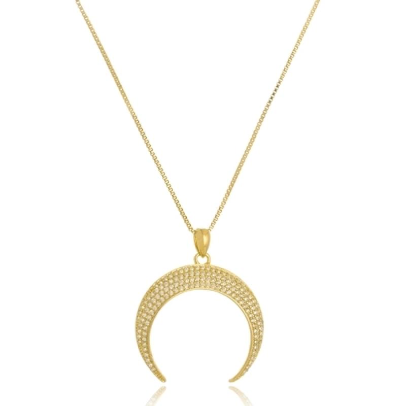 Empresa de Colar de Ouro Feminino com Pingente Poá - Colar de Ouro Feminino com Pingente