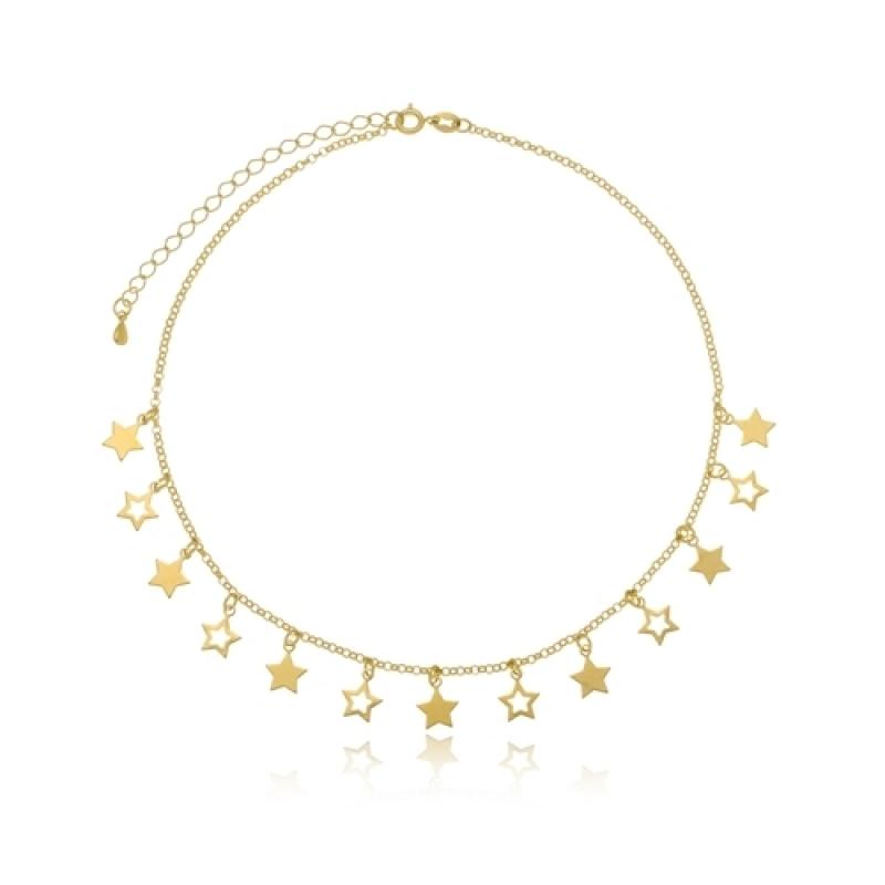 Preço de Colar de Ouro Jardim Leonor - Colar Ouro de Unicórnio Feminino