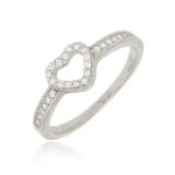 anel de ouro feminino delicado