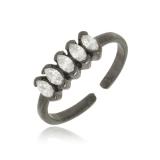 anel preto feminino