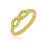 anel de compromisso folheado a ouro