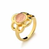 anéis infantis folheados a ouro Diadema