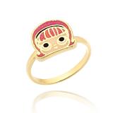 anel da lol banhado a ouro