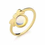 anéis ouro infantis Araçatuba