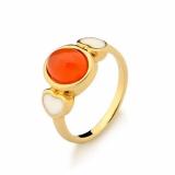 anel folheado a ouro infantil preço Paraíso do Morumbi
