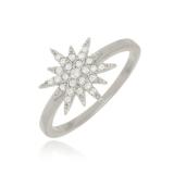 anel folheado em prata preços Parque Maria Domitila