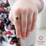 anel infantil de ouro e prata Mooca