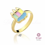 anel infantil ouro preço Heliópolis
