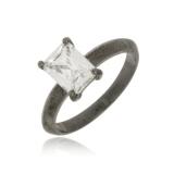 anel preto feminino para comprar Jardim Everest