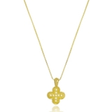 colar de ouro feminino com pingente Jabaquara