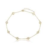 colar de ouro feminino Valinhos