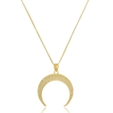 colar feminino banhado a ouro barato Embu