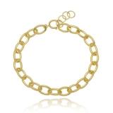 colares de ouro femininos grossos Parque Maria Domitila