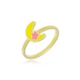 comprar anel folheado a ouro infantil Araras