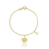 orçamento pulseira ouro feminina infantil Votuporanga