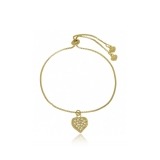 pulseira ouro infantil Cardeal