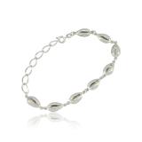 pulseira prata feminina melhor preço Saúde