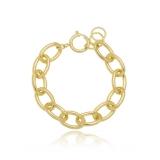 pulseiras de ouro femininas grossa Vila Élvio