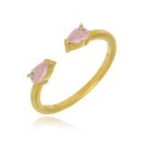 valor de anel banhado a ouro feminino Água Branca