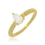 valor de anel de ouro feminino com pedra Água Funda