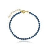 venda de pulseira banhada a ouro feminina ABCD