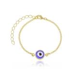 venda de pulseira de ouro feminina com pingente Jockey Clube